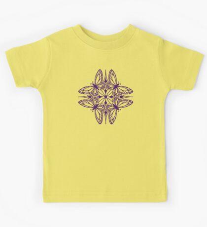 butterfly mandala - one flutter! Kids Tee