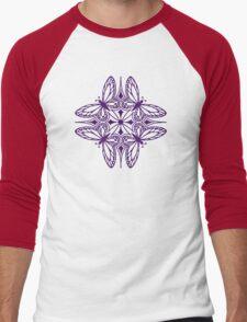 butterfly mandala - one flutter! Men's Baseball ¾ T-Shirt