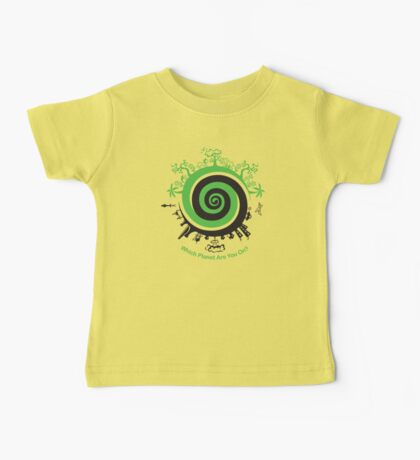 Which Planet Are You On? Baby Tee