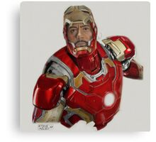 Tony Stark/Iron Man Canvas Print