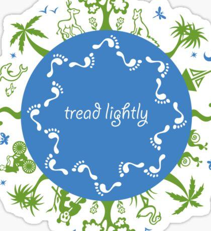 Tread lightly Sticker