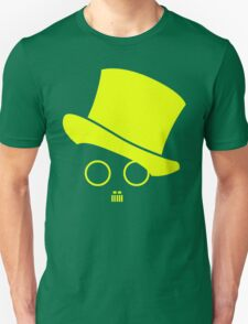 Fat cats and top hats Yellow T-Shirt