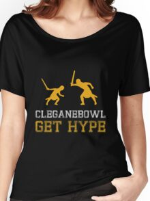 CLEGANEBOWL GET HYPE Women's Relaxed Fit T-Shirt