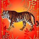 YEAR OF THE TIGER-Tiger Symbol by Lotacats