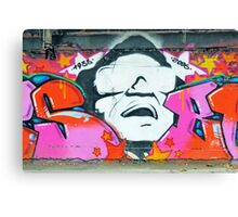 Colorful graffiti Canvas Print