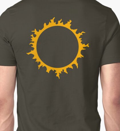 Kyo Kusanagi sun - King of Fighters Unisex T-Shirt