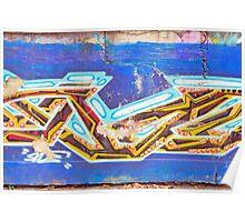 Colorful graffiti Poster