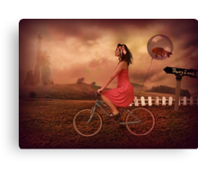 Traveling To Fairy Land Canvas Print