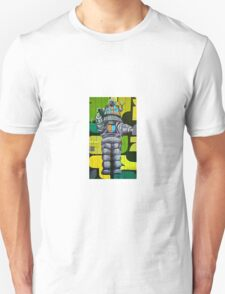 Robbie the Robot Street Art! T-Shirt