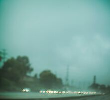 A Los Angeles Rainy Day by brightfizz