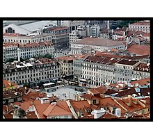 City of Lisbon Photographic Print