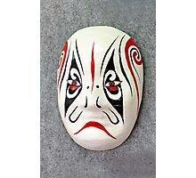 Chinese opera mask Photographic Print