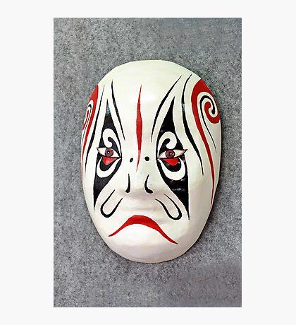 Chinese opera mask Photographic Print