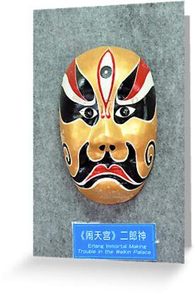 China  opera mask by lollored