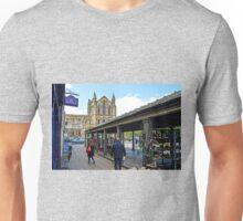 Hexham Abbey and the Shambles Unisex T-Shirt