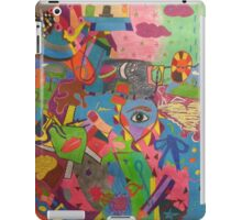 Abstract Colorful World iPad Case/Skin