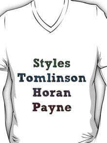 Styles, Tomlinson, Horan, Payne T-Shirt