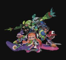 Splatoon - Unite team! by Franky-D-Law