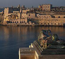 WWII Memorial  Valletta Malta by Edwin  Catania