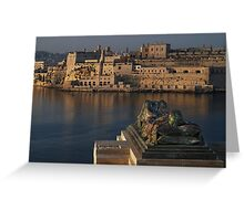 WWII Memorial  Valletta Malta Greeting Card