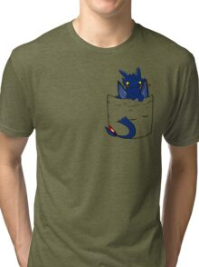 Toothles  take a spoon in Pocket Tri-blend T-Shirt