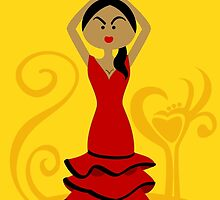 Gypsy Dancer by Sonia Pascual
