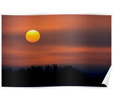 Alberta Sunrise Poster
