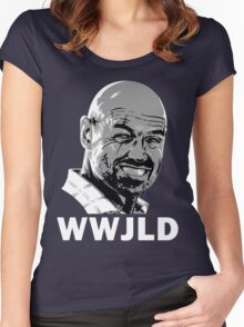 What Would John Locke Do - LOST Women's Fitted Scoop T-Shirt