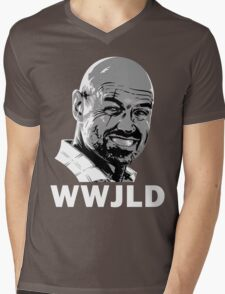 What Would John Locke Do - LOST Mens V-Neck T-Shirt