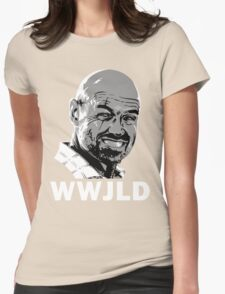 What Would John Locke Do - LOST Womens Fitted T-Shirt