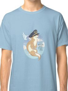 Otter on the Flight Deck Classic T-Shirt