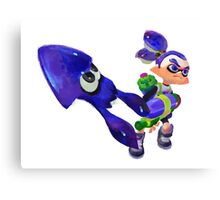 Splatoon - Inkling Boy Canvas Print