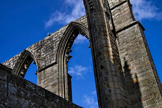 Arches at Bolton Abbey by Ray Clarke