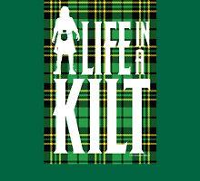 Life In A Kilt Irish Tartan Unisex T-Shirt