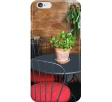 My Peaceful Patio  iPhone Case/Skin