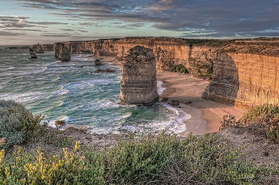 The Twelve Apostles • Victoria by William Bullimore