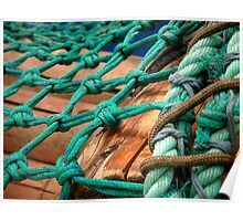 Green rope Poster