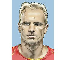Dennis Bergkamp - Arsenal Legend Photographic Print