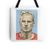 Dennis Bergkamp - Arsenal Legend Tote Bag