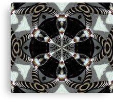 Zebra Pipes Canvas Print