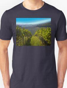 View of Hunter Valley vineyards, NSW, Australia T-Shirt