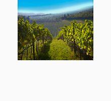 View of Hunter Valley vineyards, NSW, Australia Unisex T-Shirt