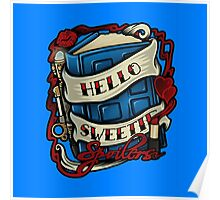 Hello Sweetie (pillow) Poster