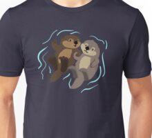 Cute: Sea Otters Unisex T-Shirt