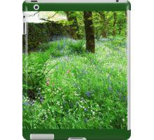 Blue Bells in Bolton Abbey woods iPad Case/Skin