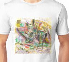 Rhinoceros Love Unisex T-Shirt
