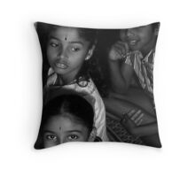 Hindu Children  Throw Pillow