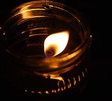 A Candle in the Night by Chelsea Herzberg