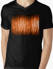 Paper flames Mens V-Neck T-Shirt
