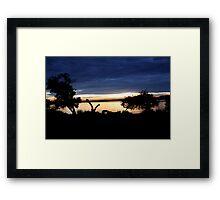 Lake Mburo Sunset - Uganda Framed Print